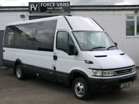 IVECO DAILY IRIS BUS COACH MINIBUS CREW CAMPER BAND MOTORHOME WELFARE DAY VAN