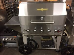 "New Crown Verity MCB-36PKG 36"" Commercial BBQ - BEAT ANY PRICE"
