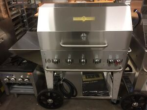 """New Crown Verity MCB-36PKG 36"""" Commercial BBQ - BEAT ANY PRICE"""