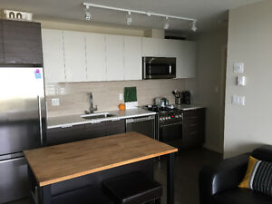 New Fully Furnished Luxury Condo - 2 Bd 2 Bth + Den - WAVE CONDO