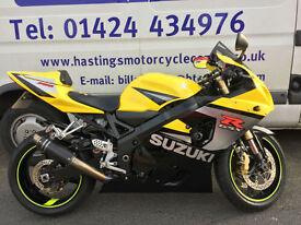 Suzuki GSX-R750 / GSXR750 Super Sports Bike / Nationwide Delivery / Finance