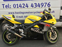 Suzuki GSX-R750 / GSXR750 Super Sports Bike / Nationwide Delivery / Finance