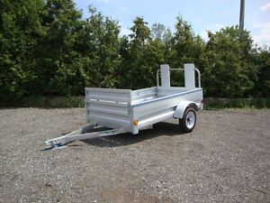 Galvanized Utility Trailers - In Stock Now