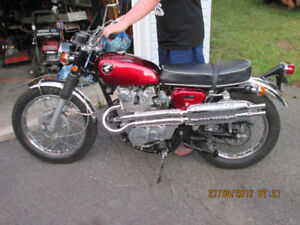 50 YEAR OLD HONDA CL450