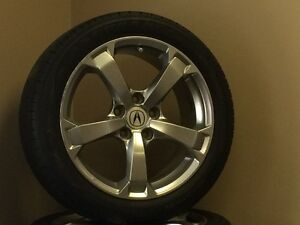 ACURA TL WHEELS AND TIRES