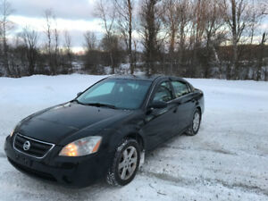 2003 Nissan Altima Certified and warranty Sedan