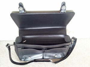 Pierre Cardin Black Leather Business Bag London Ontario image 4