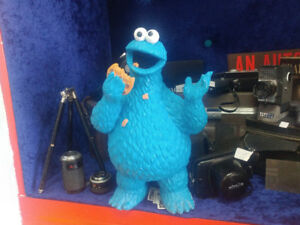 Figurine cookie monster