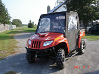 ARTIC CAT 1000 CC UTV 2009 SIDE BY SIDE WITH CANVAS CAB