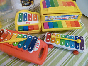 Vintage Fisher Price & Little Tikes Musical Instruments