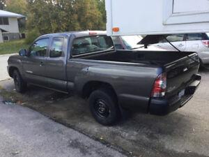 2010Toyota Tacoma Pickup-dark grey,Access cab,