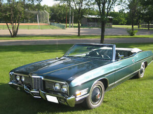 Classic Convertible - 1972 Ford LTD