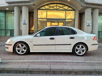 2005 Saab 9-3 ARC Sedan - RARE WHITE ON WHITE - Great Condition