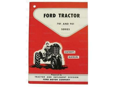 Ford 701901 Tractor Operator Owners Instruction Manual New 741 771 941 971 981
