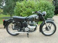 AJS MODEL 20, 1952, BEAUTIFUL CONDITION 500 TWIN, STAINLESS SPOKES