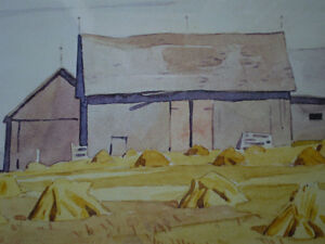 """Initialed A.J. Casson-""""Harvest Time"""" Artists Proof Kitchener / Waterloo Kitchener Area image 8"""