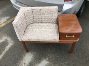 Mid Century Modern Stools and Bench