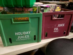 5 caisses Holiday Juices pour 75$