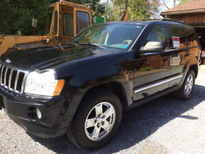 2007 Jeep Grand Cherokee Limited 5.7L  HEMI w/MDS  $7800