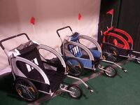 NEW TB 1 or 2 Child Bike Trailer Stroller / Jogger $200 to $250