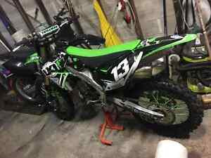 Kx250f 2010 fuel injec (28 hrs) Lidcombe Auburn Area Preview