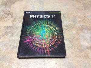 NEW NELSON PHYSICS GR. 11 TEXTBOOK FOR SALE PICKUP OR DROPOFF