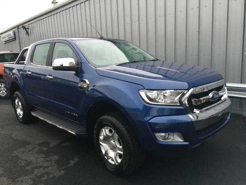 new ford ranger 3 2tdci 200ps 4x4 6 speed limited in blue options onsite in hinckley. Black Bedroom Furniture Sets. Home Design Ideas