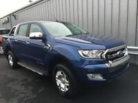NEW Ford Ranger 3.2TDCi 200PS 4x4 6 Speed Limited in Blue + Options- Onsite