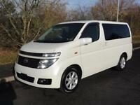 2003 Nissan Elgrand XL LEATHER SUNROOFS FRESH IMPORT 3.5 5dr