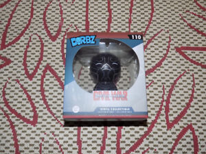 FUNKO, BLACK PANTHER, CIVIL WAR, DORBZ, MARVEL #110 VINYL FIGURE