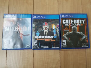 PS4 Games $20 each