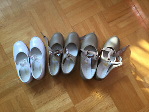 Tap dance shoes for young girls 4-11 years old