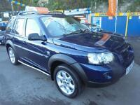 2004 04 LAND ROVER FREELANDER 2.0 TD4 HSE IN BLUE # TOP SPEC CREAM LEATHER #