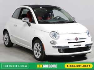 2016 Fiat 500c AUTO A/C CUIR TOIT BLUETOOTH MAGS