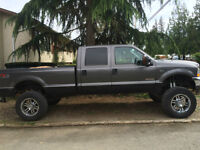 LIFTED F-350 FOR TRADE FOR F150 OR SIMILAR SIZE TRUCK