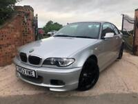 2003 BMW 325CI SPORT 2.5 AUTOMATIC FSH FULL LEATHER