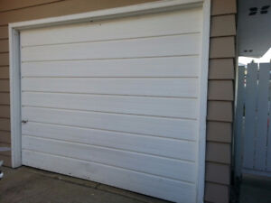 Used 9x7 Steel Garage Door