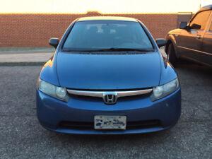 2008 Honda Civic DX Sedan $3200