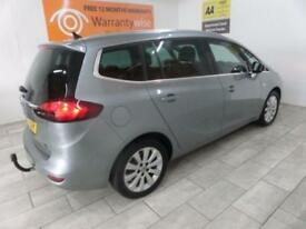 SILVER VAUXHALL ZAFIRA TOURER 1.8 TECH LINE ***from £206 per month***