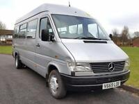 Mercedes-Benz SPRINTER 410D LWB + TWIN WHEELS + 17 SEATER + HIGH ROOF