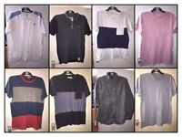 Bundle of branded men's clothes