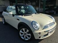 Mini Cooper 1.6 ( 116bhp ) Convertible White Manual