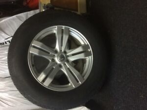 Alloy Wheels and Winter Tires for sale