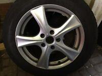 Fiat/Citroen/peugeot ducato alloy wheels