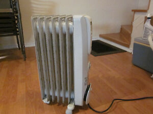 Heater 1500 Watts - Oil filled Rdiator - Portable