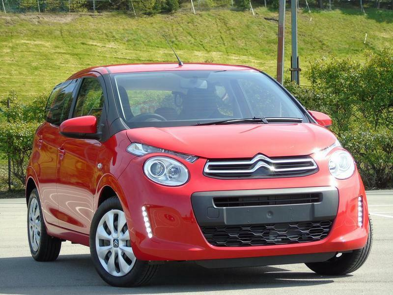 citroen c1 1 2 puretech feel 5 door red 2016 in huddersfield west yorkshire gumtree. Black Bedroom Furniture Sets. Home Design Ideas