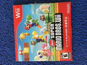 Super Mario Bros. for Wii & Star Wars light saber for Wii