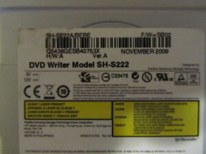 DVD super write master model SH5222