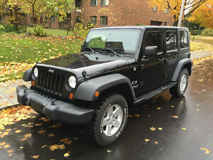2009 JEEP WRANGLER UNLIMITED X 4DOORS 4WD (148,000KM)