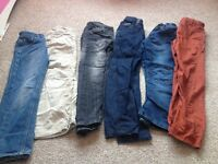 Jeans and trousers bundle 6-8 years